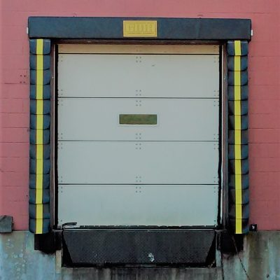 gma loading dock seal with pleats